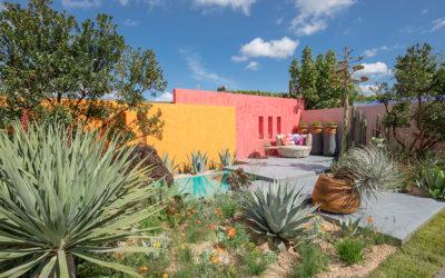 Garden Tour: A Dazzlingly Colourful Outdoor Living Room